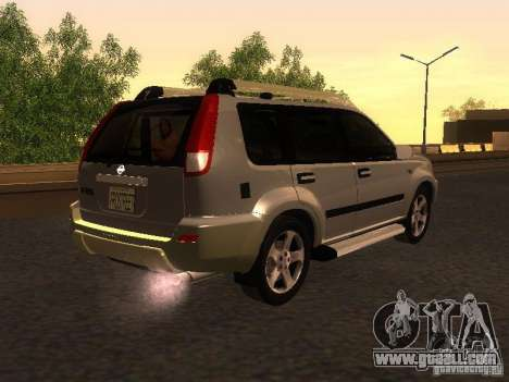 Nissan X-Trail for GTA San Andreas back left view