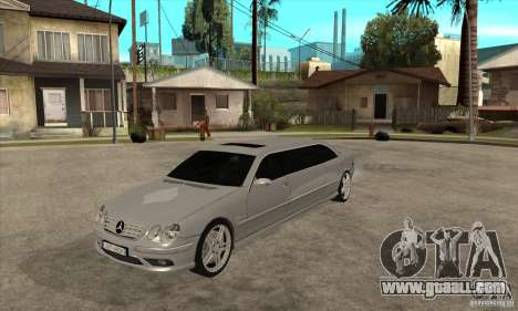 Mercedes-Benz CL65 Limusine for GTA San Andreas