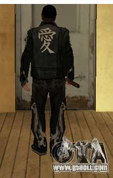 Replacement skins Yakuza for GTA San Andreas second screenshot