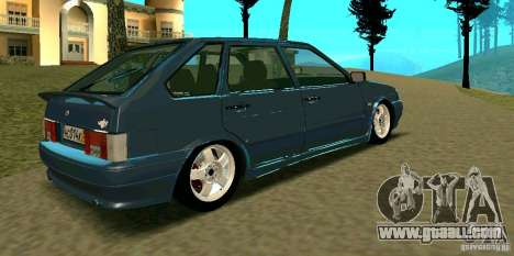 ВАЗ 2114 for GTA San Andreas back left view
