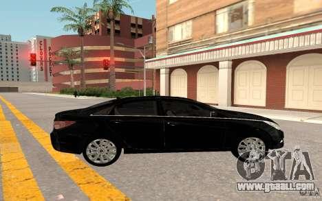 Hyundai Sonata 2012 for GTA San Andreas right view