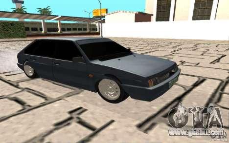 VAZ 2109 v. 2 for GTA San Andreas