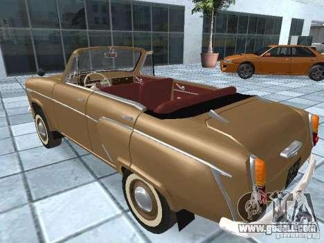 Moskvich 403 Cabrio for GTA San Andreas left view