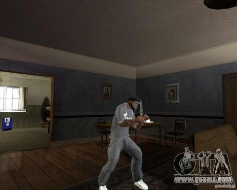 Hunting blade for GTA San Andreas third screenshot
