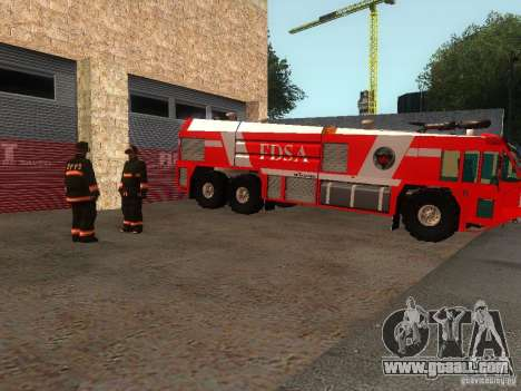 Realistic fire station in SF v2.0 for GTA San Andreas