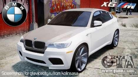 BMW X6M v1.0 for GTA 4