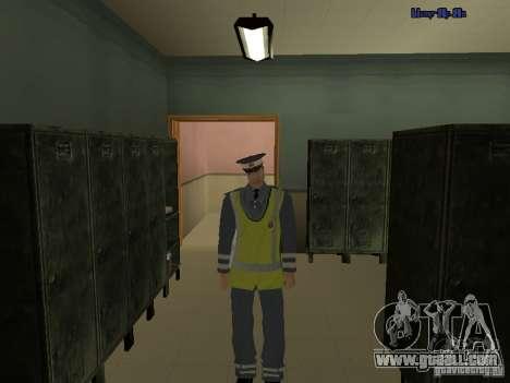 Inspector DPS for GTA San Andreas