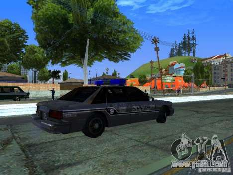 Lumpkin Country Sheriffs Office for GTA San Andreas right view
