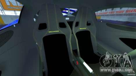 Hennessey Venom GT 2010 [EPM] for GTA 4 inner view