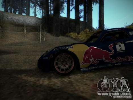 Pontiac Solstice Redbull Drift v2 for GTA San Andreas back view