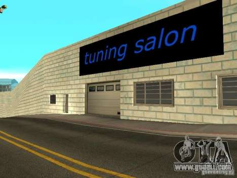 Auto VAZ in San Fierro for GTA San Andreas forth screenshot
