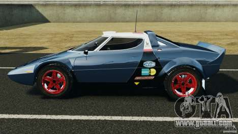 Lancia Stratos v1.1 for GTA 4 left view