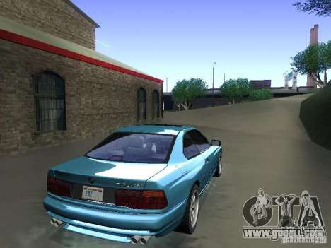 BMW 850CSi 1995 for GTA San Andreas left view