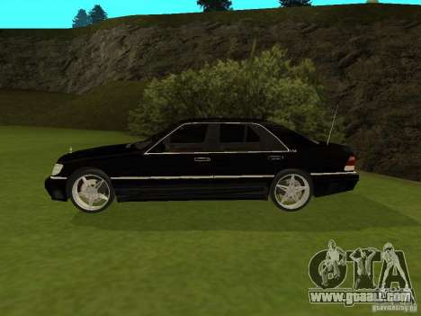 Mercedes-Benz 600 W140 for GTA San Andreas left view
