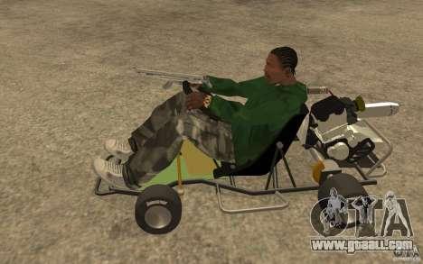 Hayabusa Kart for GTA San Andreas left view