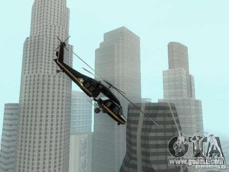 GTA 4 Annihilator Enterable for GTA San Andreas left view