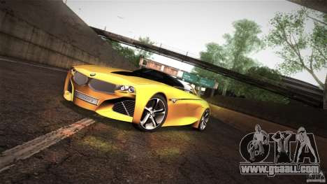 BMW Vision Connected Drive Concept for GTA San Andreas left view