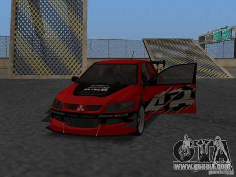 Mitsubishi Lancer Evolution 8 for GTA San Andreas