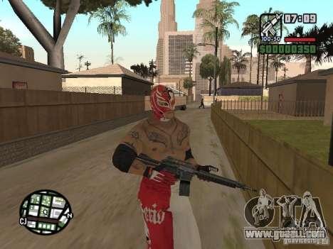 Rey Mysterio for GTA San Andreas fifth screenshot