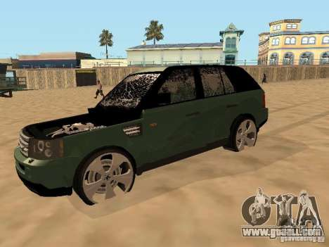 Land Rover Range Rover Sport for GTA San Andreas inner view