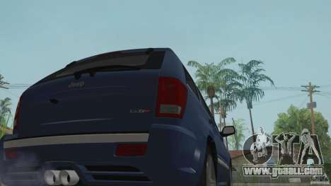 Jeep Grand Cherokee SRT8 2009 for GTA San Andreas right view