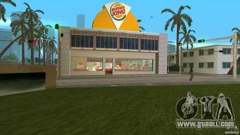Burgerking-MOD for GTA Vice City