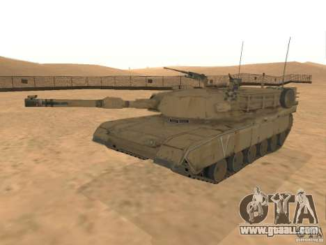 Abrams M1A2 for GTA San Andreas