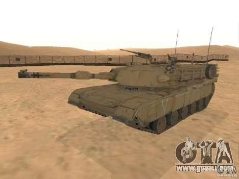 Abrams M1A2 for GTA San Andreas