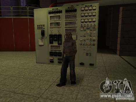 Controller of S.T.A.L.K.E.R. for GTA San Andreas