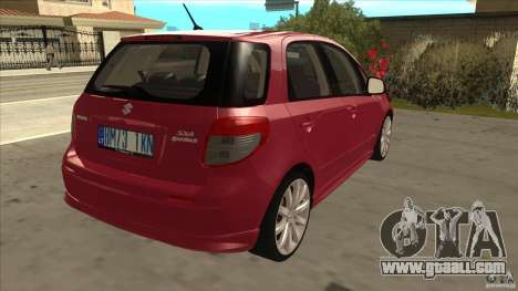 Suzuki Sx4 - Stock for GTA San Andreas right view