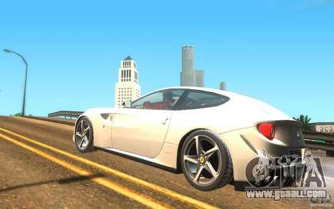 Ferrari FF for GTA San Andreas left view