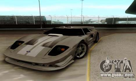 Ford GT Tuning for GTA San Andreas
