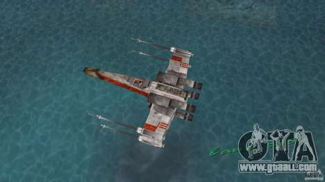 X-Wing Skimmer for GTA Vice City right view