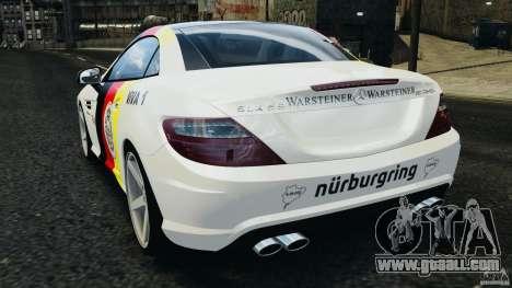 Mercedes-Benz SLK 2012 v1.0 [RIV] for GTA 4 back left view