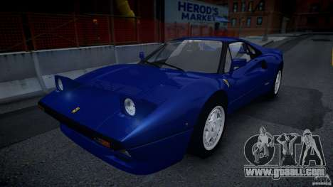 Ferrari 288 GTO EPM for GTA 4 back view