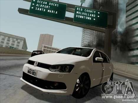 Volkswagen Golf G6 v3 for GTA San Andreas