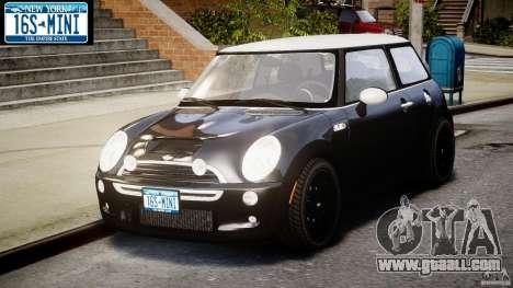 Mini Cooper S 2003 v1.2 for GTA 4