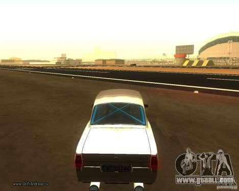 Gaz Volga 2410 Drift Edition for GTA San Andreas left view