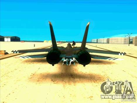 F-14 Tomcat Schnee for GTA San Andreas right view