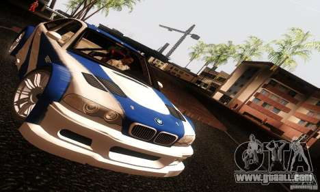 BMW M3 GTR v2.0 for GTA San Andreas right view