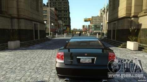 Civilian Buffalo v2 for GTA 4 inner view