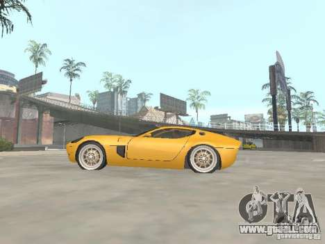 Ford Shelby GR1 for GTA San Andreas left view
