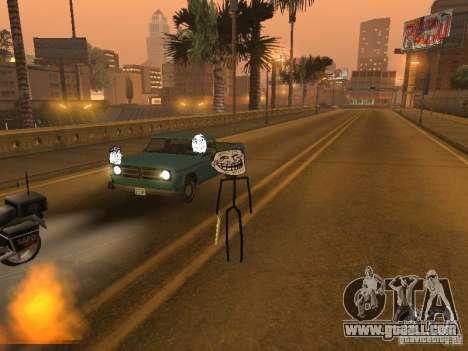 Meme Ivasion Mod for GTA San Andreas ninth screenshot