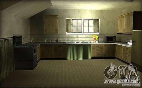 New textures for home Džonsonov for GTA San Andreas