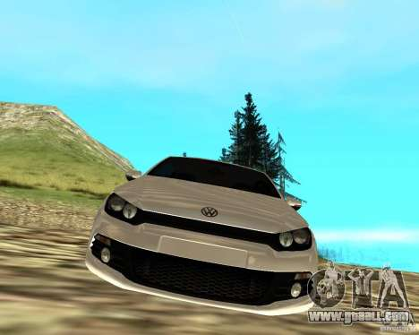 VW Scirocco III Custom Edition for GTA San Andreas right view