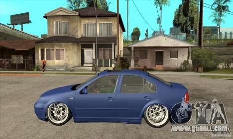 VW Bora VR6 Street Style for GTA San Andreas left view