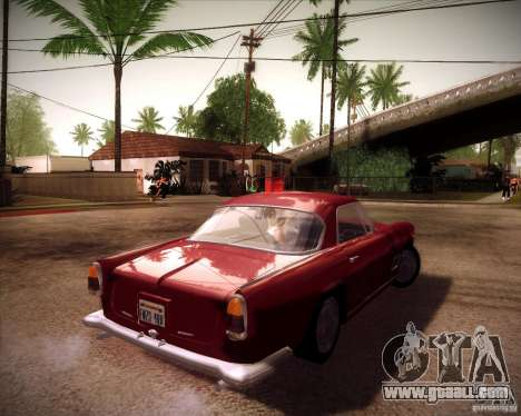 Maserati 3500 GT for GTA San Andreas back left view