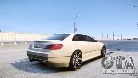 Schafter2 Sedan for GTA 4 left view