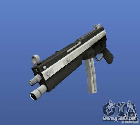 Mega Gun Pack (Chrom) for GTA 4 ninth screenshot