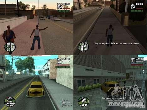 TaxiPass v.1 for GTA San Andreas